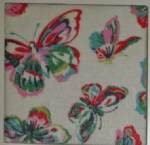 Ceramic Wall Tiles Made With Cath Kidston Butterflies